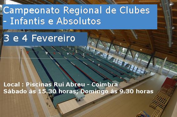 Campeonato Regional de Clubes - Infantis e Absolutos