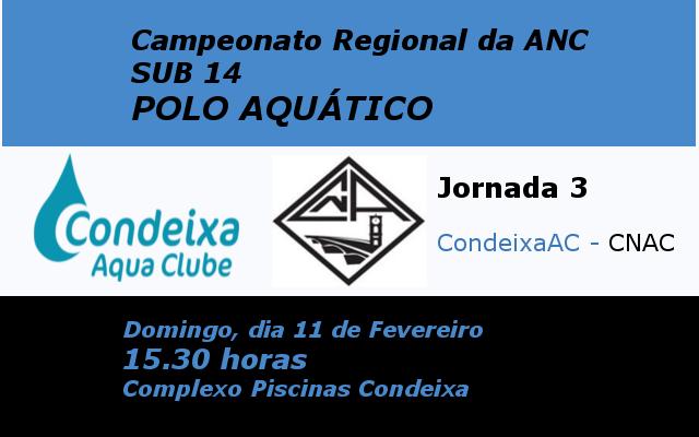 Pólo Aquático Sub14- Jornada 3 @ Condeixa