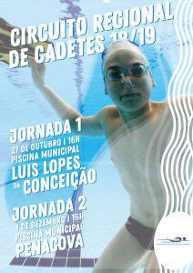 Circuito Cadetes, Jornada 1 @ Piscina Luís Lopes da Conceição