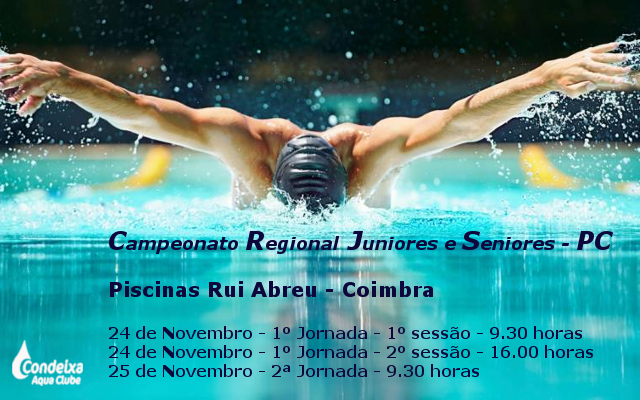 Campeonato Regional Juniores e Seniores - PC @ Piscina Rui Abreu
