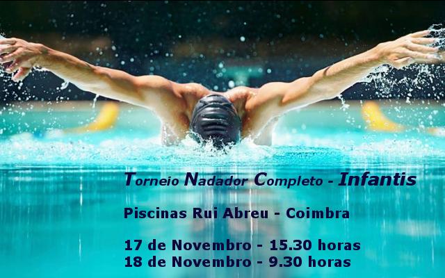 Torneio Nadador Completo - Infantis @ Piscina Rui Abreu