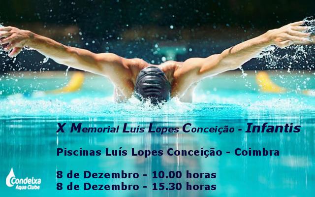 X Memorial Luis Lopes da Conceição @ Piscina Luís Lopes da Conceição
