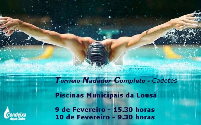 Torneio Nadador Completo - Cadetes @ Lousã