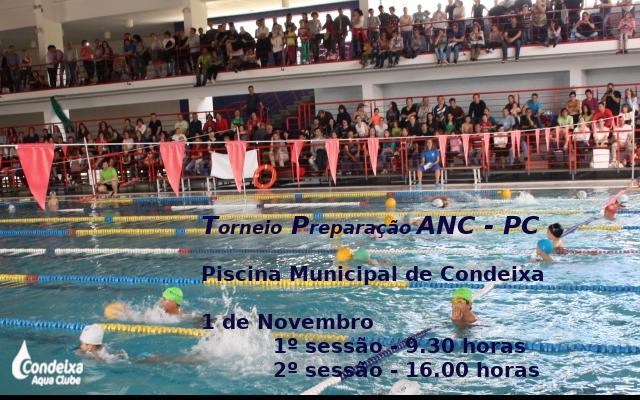 Torneio de Preparação ANC - PC @ Piscina Municipal de Condeixa