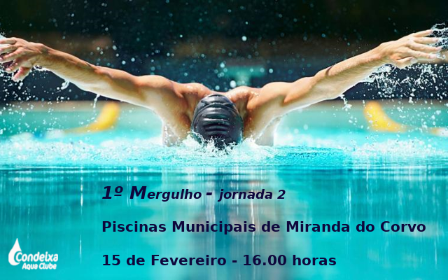 1º Mergulho - Jornada 2 @ Miranda do Corvo