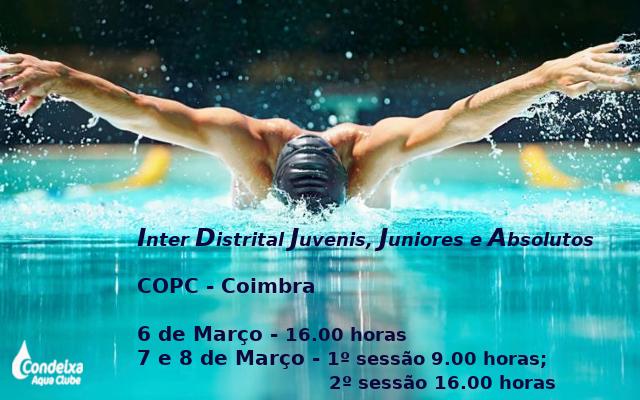 Inter Distrital de Juvenis, juniores e absolutos @ Mealhada